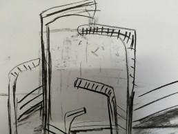 Drawings from Camp, Kamran Ashtary