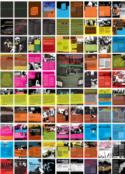 Thumbnails from the book Hope, Votes & Bullets
